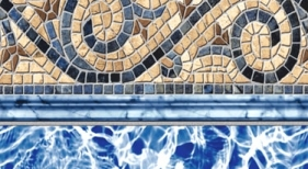 Siesta Wave Tan Tile